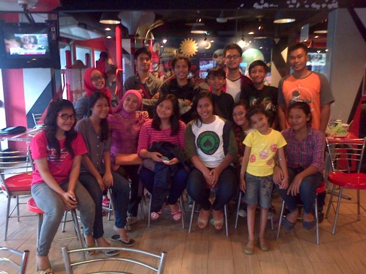 Pasuspram bersama Pembina Putri Kak Dhea, KFC Cikini Jakarta