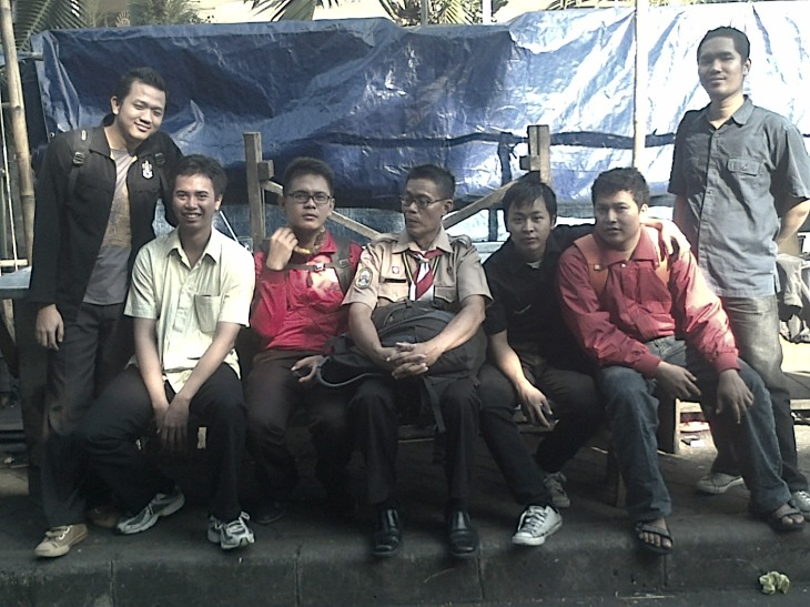 Pasuspram SMP 8 Jakarta, bersama Pembina Kak Indra Trisula